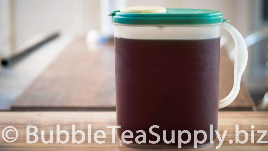 Passion Fruit Iced Black Tea by the Gallon - 03