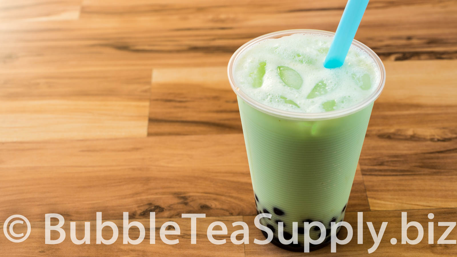 Honeydew Bubble Tea with Boba Recipe by Bubble Tea Supply