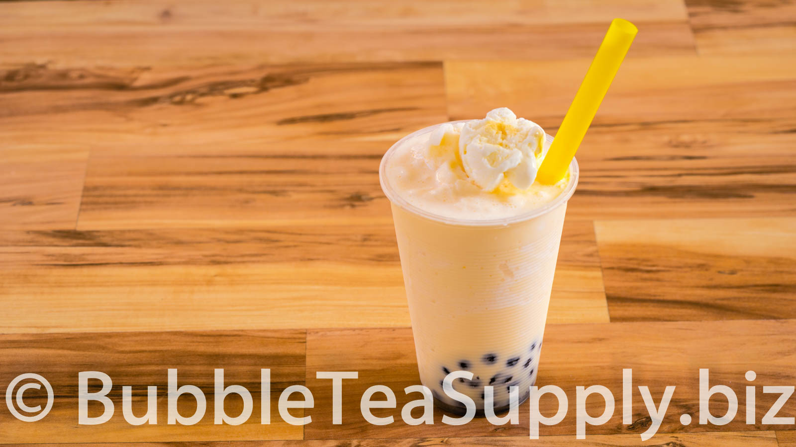 How to Make Orange Creamsicle with Boba Tapioca Pearls