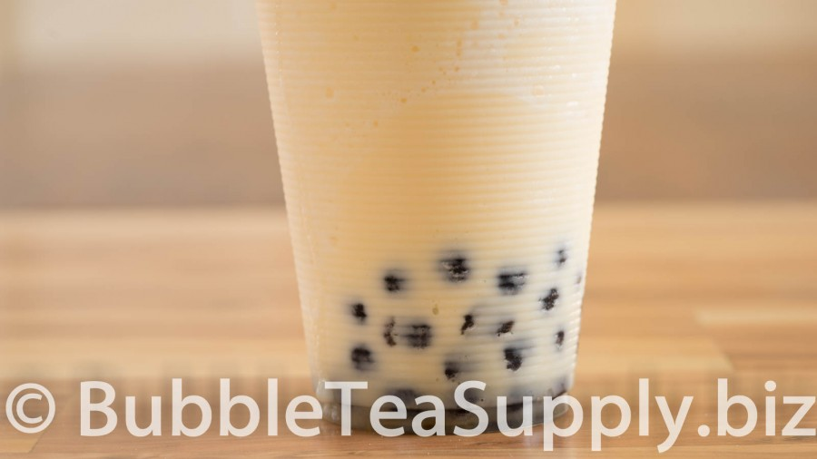 Orange Creamsicle with Boba Tapioca Pearls - 03