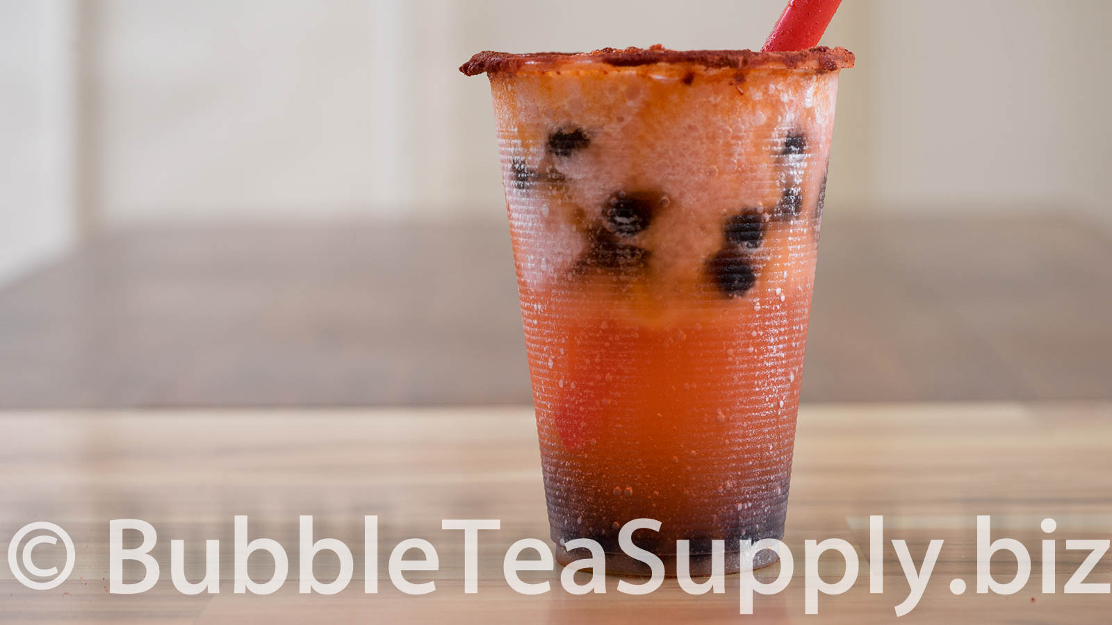 How to Make Strawberry Bubble Tea with Li Hing Powder and Boba Tapioca Pearls