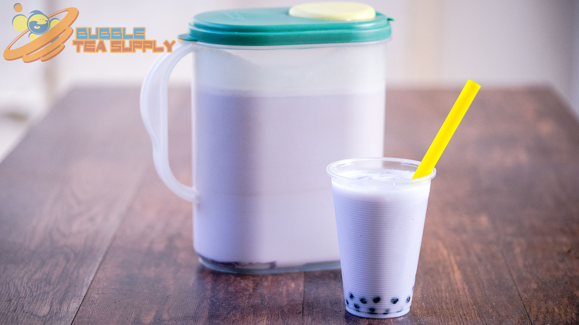 How to Make Taro Bubble Tea with Boba Tapioca Pearls by the Gallon