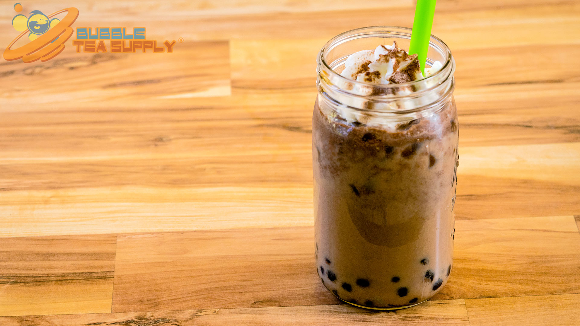 How to Make Mocha Bubble Tea with Boba Tapioca Pearls